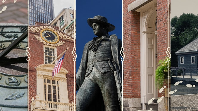 historic Boston walks