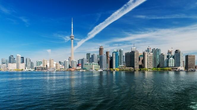 La cuidad cosmopolita de Toronto, Canadá