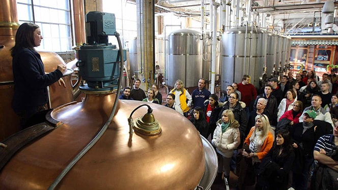 Insider tours of popular breweries