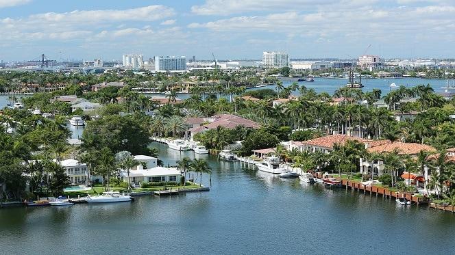 Los canales de Fort Lauderdale