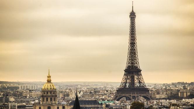 Panorámica de París con la Torre Eiffel