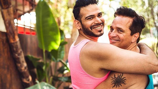 Gay-friendly travel spots in Mexico.