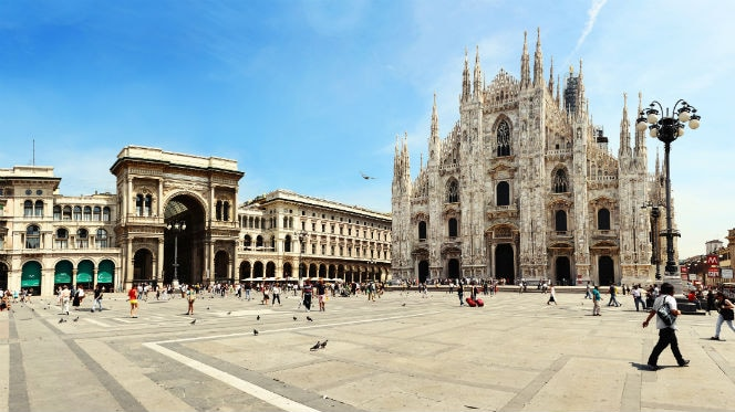 Catedral de Milán y Galleria Vittorio Emanuele II