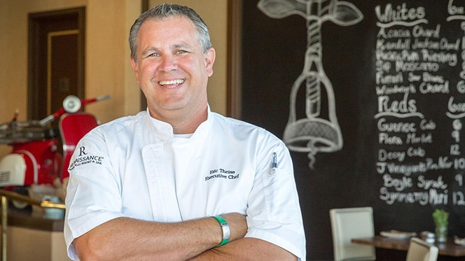 Executive Chef Eric Theiss of the Renaissance Indian Wells Resort & Spa
