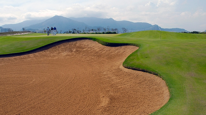 Olympic Golf Course is Rio's only public green