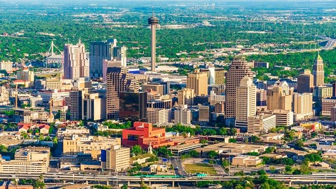 Paisaje de San Antonio, Texas