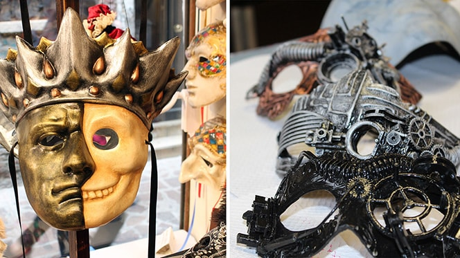 Authentic mask-making in Venice