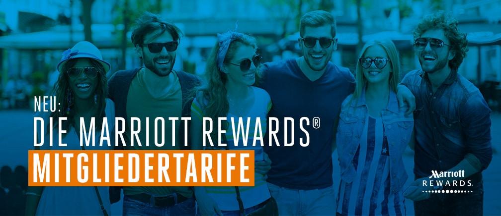Wir stellen vor: Die Marriott Rewards® Mitgliedertarife