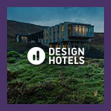 Futuristic hotel built into a mountainside, opens the Design Hotels brand page