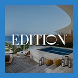 Private pools and deck overlooking ocean, opens the EDITION brand page
