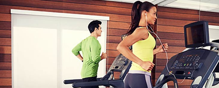 Gimnasio disponible las 24 horas en los hoteles Fairfield