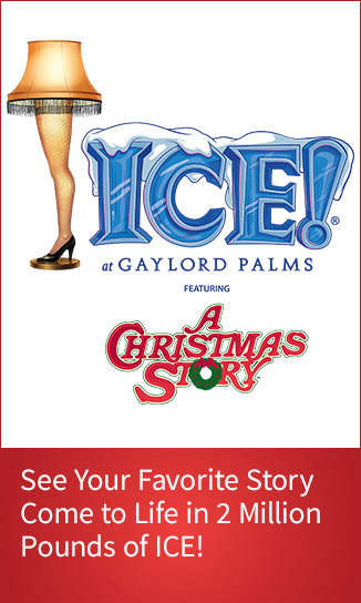 Purchase ICE tickets featuring A Christmas Story at Gaylord Palms