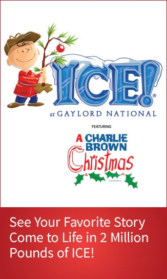 Purchase ICE tickets. Features a Charlie Brown™ Christmas.