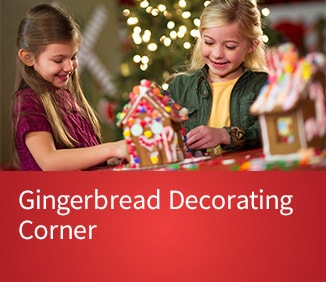 Purchase Tickets for Gingerbread Decorating