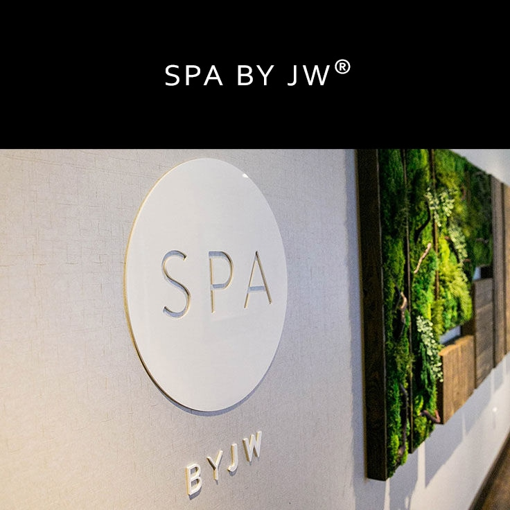 Spa-Eingang im JW Marriott Houston Downtown /Link zur Spa Seite des JW Marriott Houston Downtown
