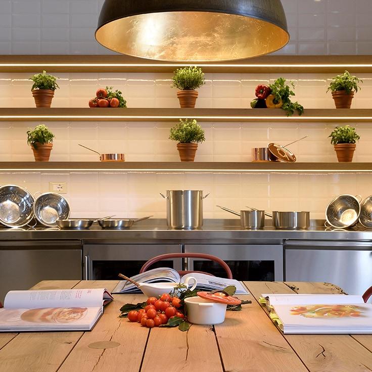 Image d'une cuisine | Lien vers la page Sapori Cooking Academy du JW Marriott Venice Resort & Spa