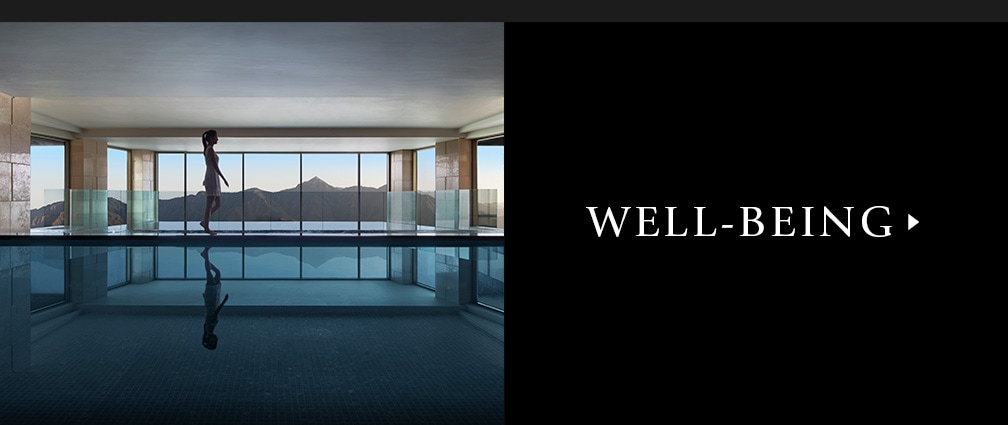 Image of indoor pool link to Well-Being page