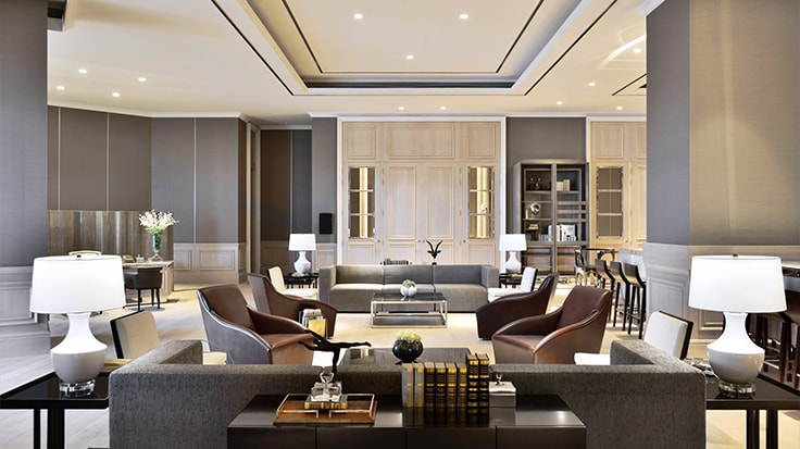 Image Of The Living Room Linked To JW Marriott Hotel Kolkata