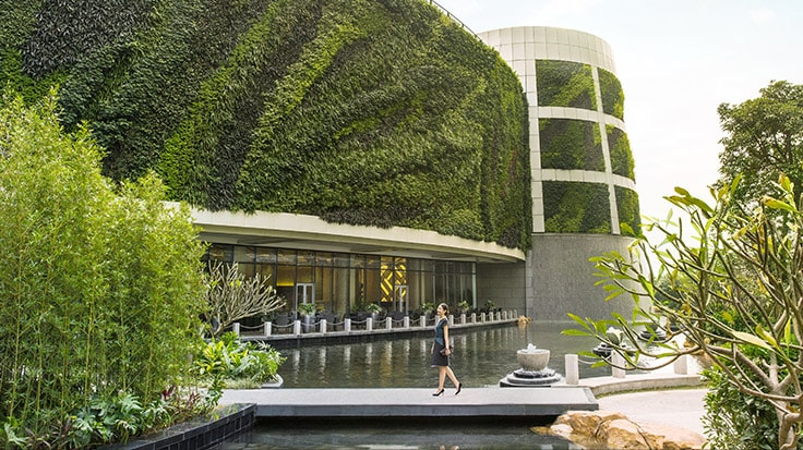 Image of Outdoor Terrace linked to JW Marriott Hotel Shenzhen Bao'an