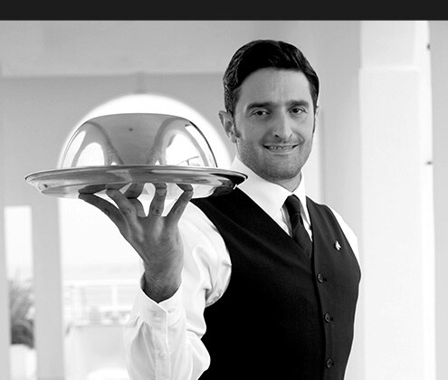 Image of waiter that links to JW Culture page