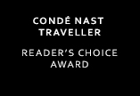 Conde Nast Traveller Reader's Choice Award