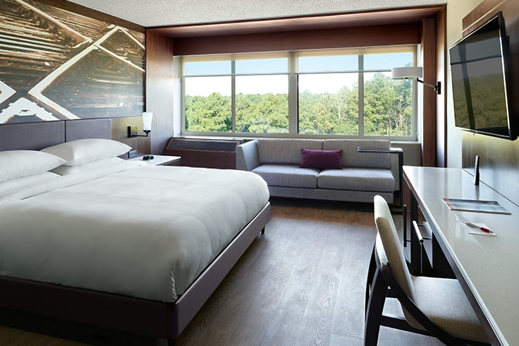 Redesigned Modern Hotel Rooms