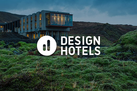 hotels built into side of mountain, Design Hotels logo
