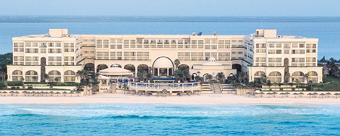 Image result for 4-Night Stay in an Ocean View Room at Marriott Cancun Resort with Airfare for 2