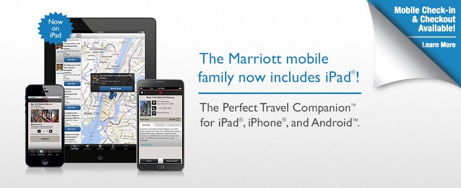 The Newly Updated Marriott Mobile App