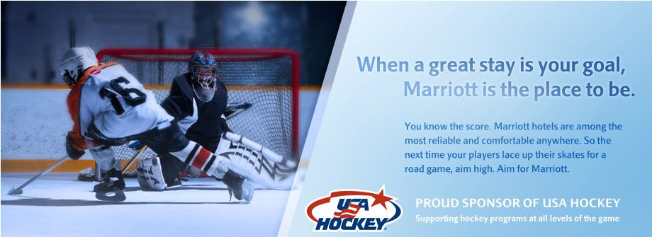 Marriott Hotels is a Proud Sponsor of USA Hockey