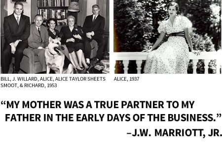My mother was a true business partner to my father in the early days of our business.