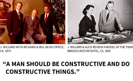 A man should be constructive and do constructive things.