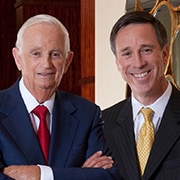 Portrait de Bill Marriott et d'Arne Sorenson