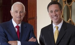 Bill Marriott und Arne Sorenson
