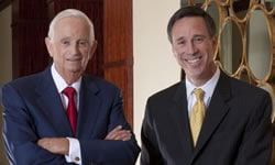 Portrait of Bill Marriott and Arne Sorenson