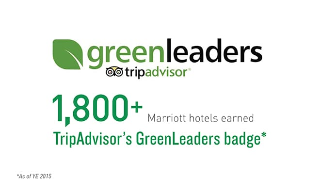 TripAdvisor GreenLeaders Hotels