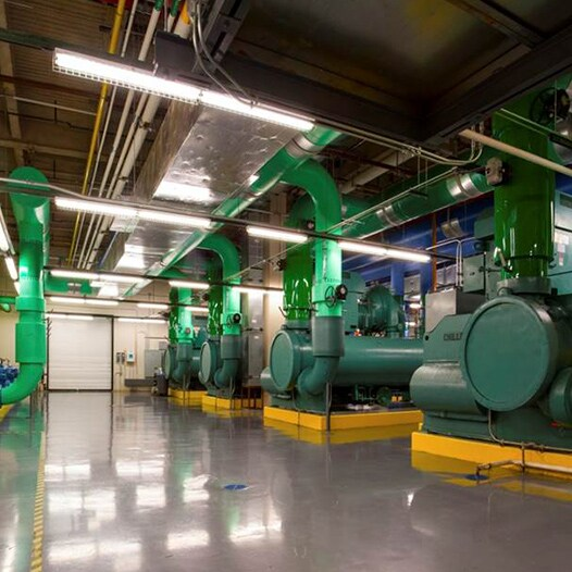 Environmentally-efficient chillers at the Gaylord Texan Resort Hotel and Convention Center
