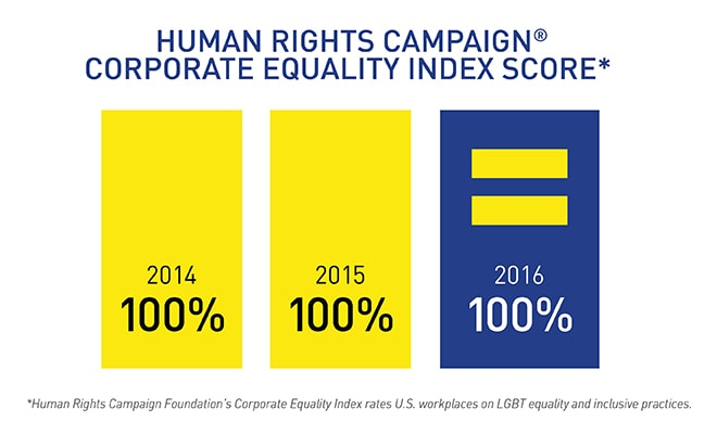Human rights campaign corporate equality index score