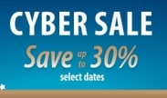 72 Hour Cyber Sale * Save up to 30 percent*