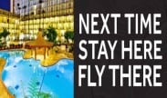 Stay Here, Fly There at the Los Angeles Airport Marriott