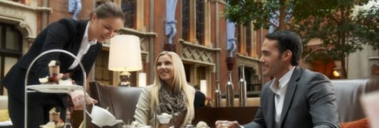 Afternoon Tea at the St. Pancras