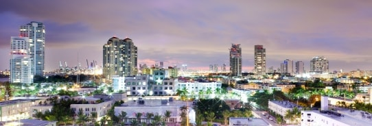 15% off Seven or more Nights in Miami