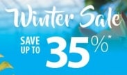 Winter Sale: Save up to 15%