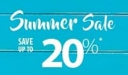 Summer Sale: Save up to 20%
