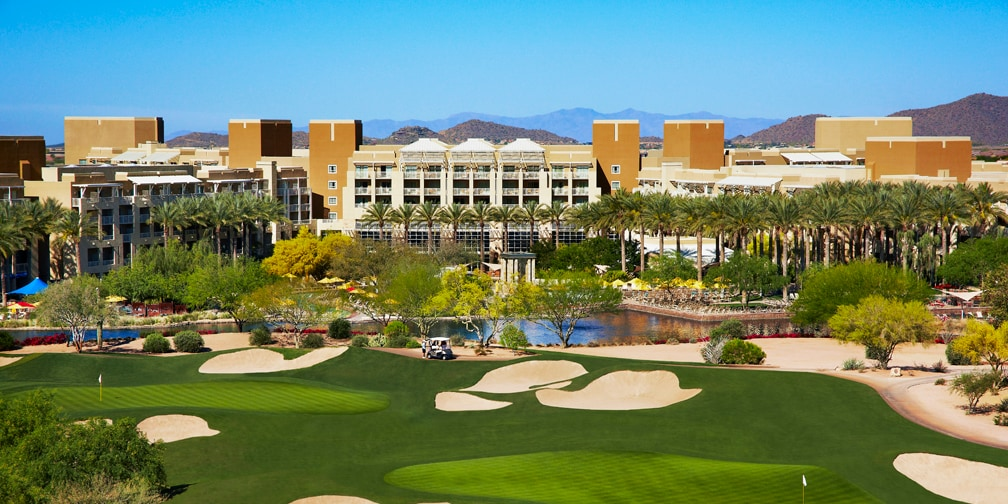View of Wilfire Golf Club and JW Marriott Desert Ridge