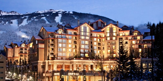 Ski mountain view and The Westin Resort & Spa, Whistler