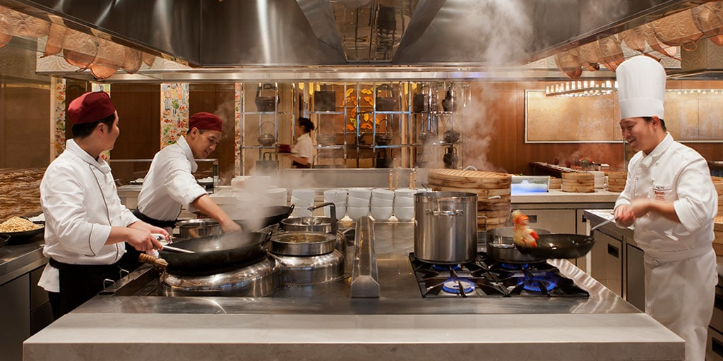 Shanghai Marriott Hotel City Centre Catering Services