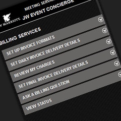 Billing Services Screen