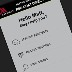 Marriott Meeting Services App & Event Management Services