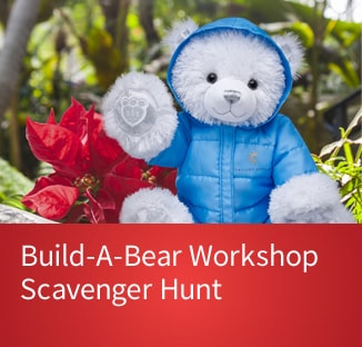 Link to ticket page for Build-A-Bear Scavenger Hunt